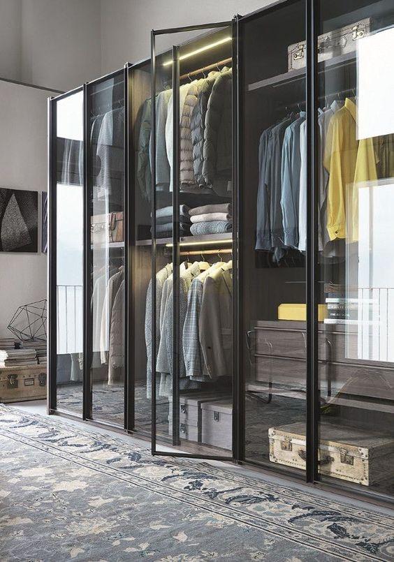 Inspiração closets e armários